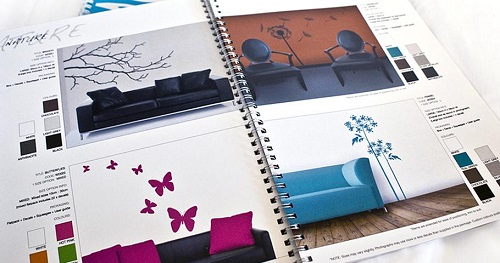 Catalogue in giấy mỹ thuật