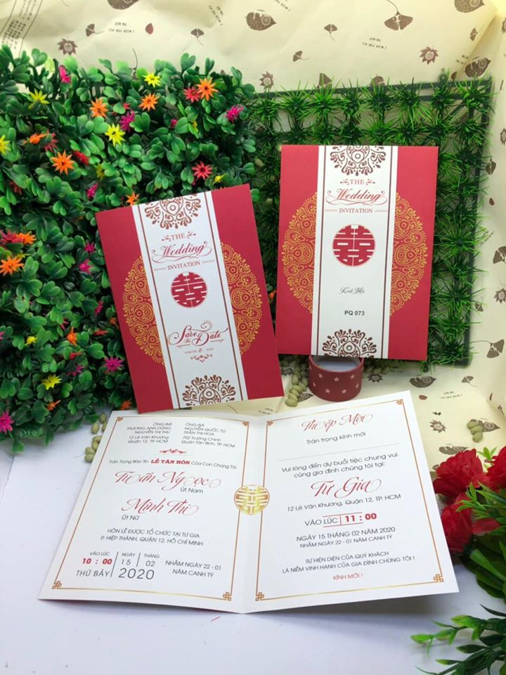 Thiệp cưới 3500