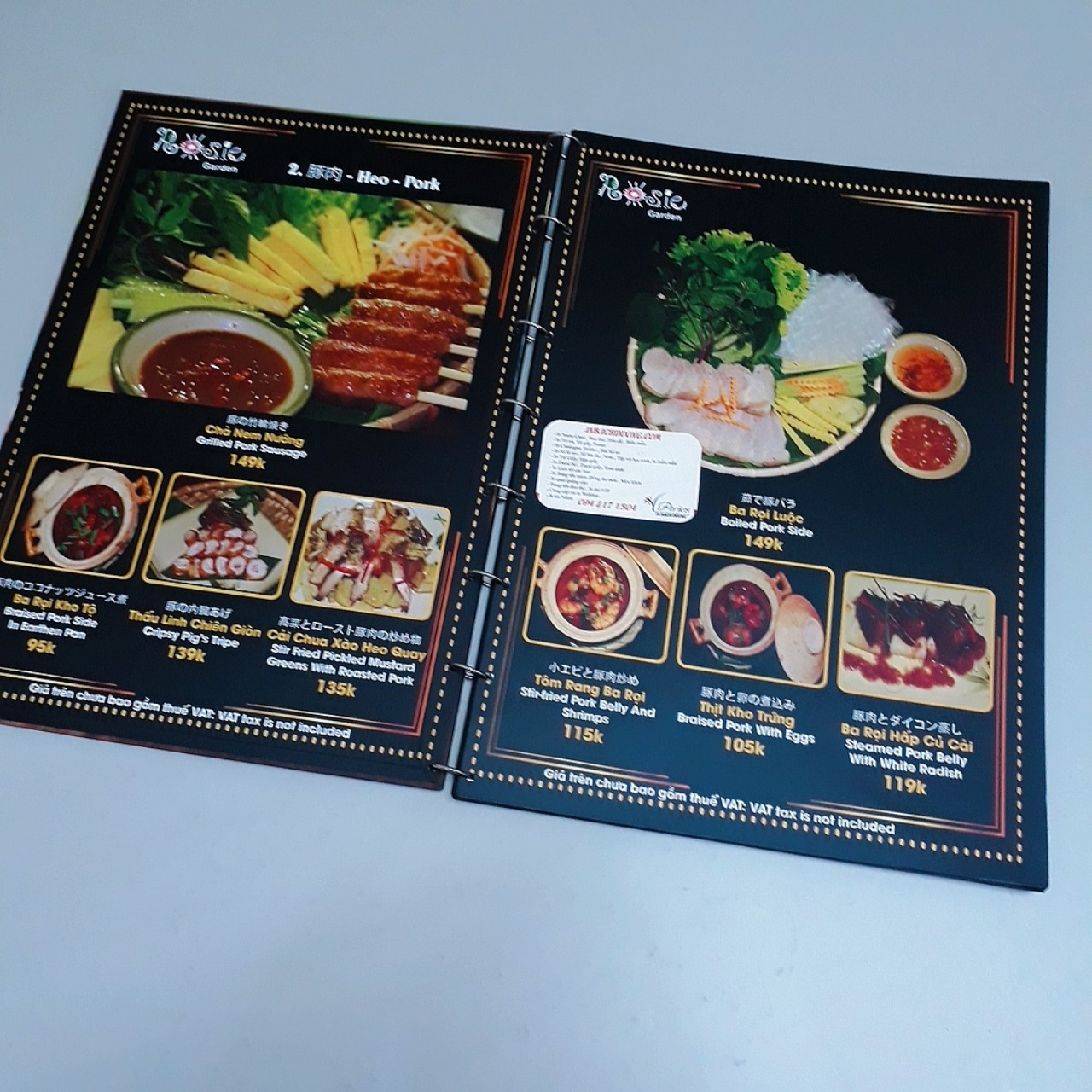 Catalogue in giấy Nhựa A5