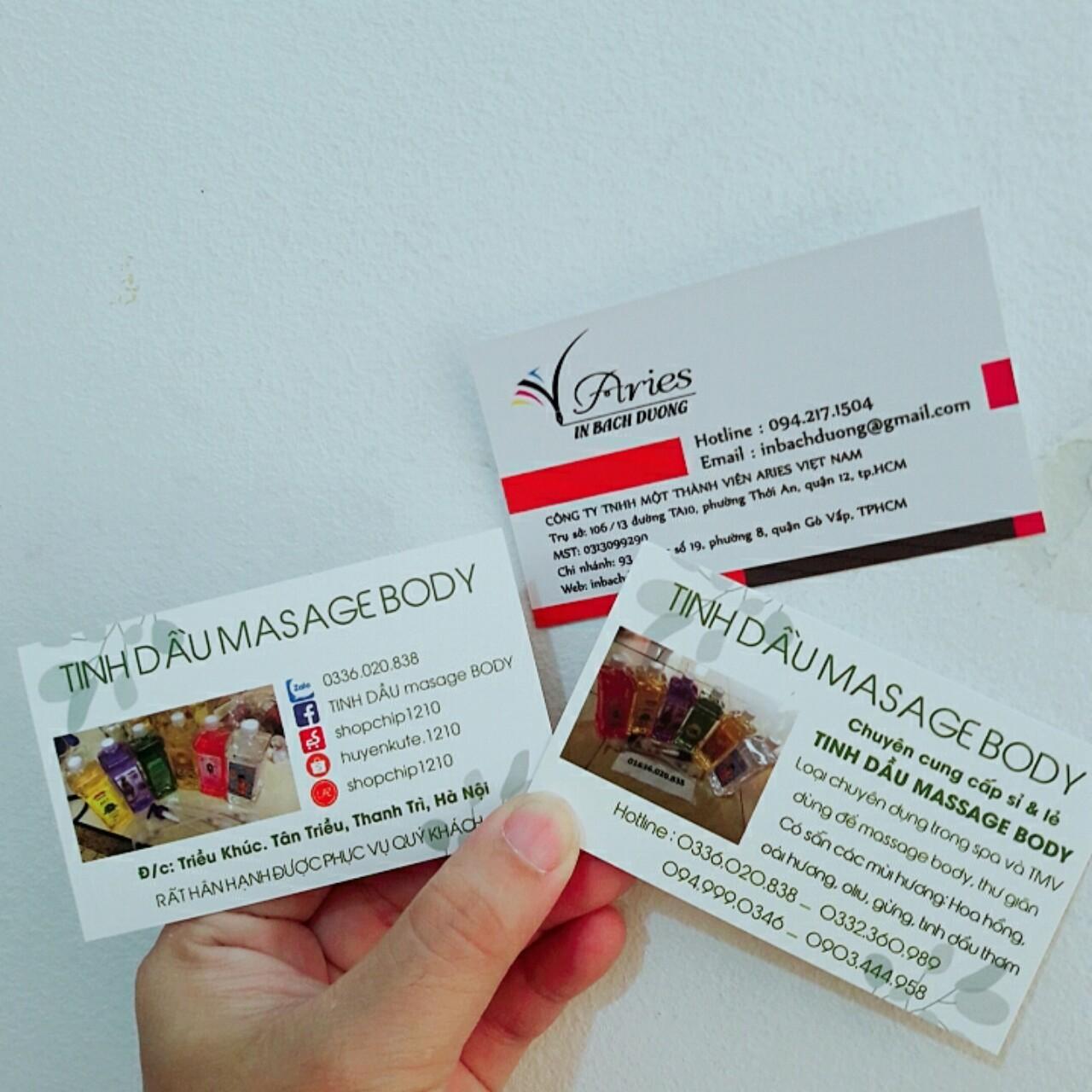 Namecard giá rẻ